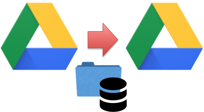 Googleドライブ,移動,データ